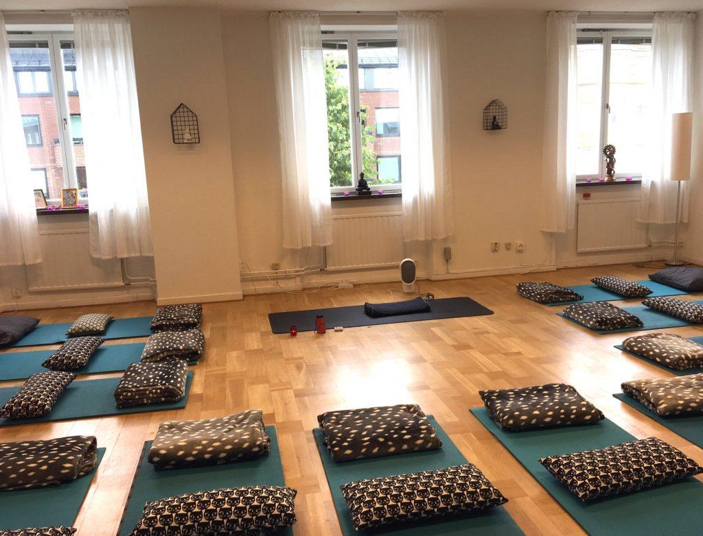 yogasangam karlskrona träningslokal
